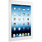 64GB new iPad with Wi-Fi + 4G (AT&T, White)