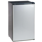 2.4 Cu. Ft. Refrigerator – Stainless Steel