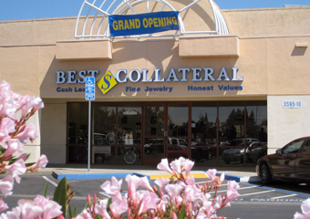 Vallejo Store front with Grand Opening banner