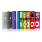 pre-owned ipods in various colors