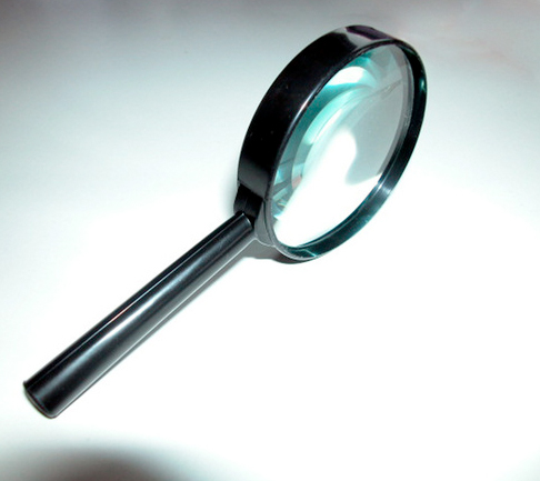 A magnifying glass. Careers at Best Collateral