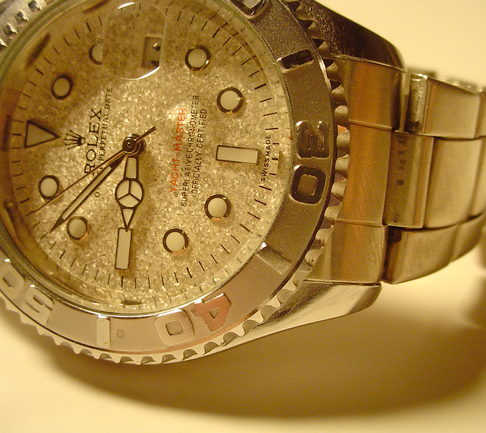 a pre-owned Rolex watch