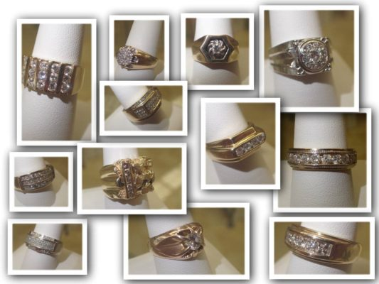 Marysville Diamond Rings for Men
