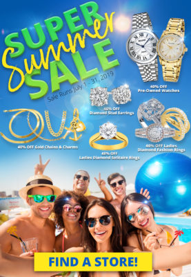 Best Collateral Storewide Sale July 1-31, 2019