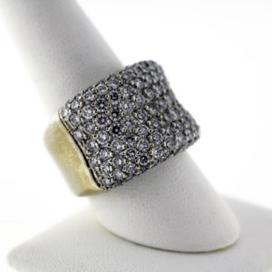 4.00 CTW, 18K Gold Ladies Fashion Ring