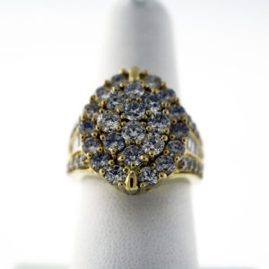 3.50CTW 14K 11G Ladies fashion ring