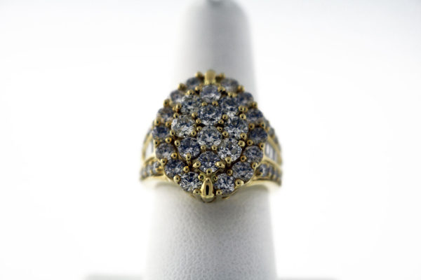 3.50CTW 14K 11G Ladies fashion ring