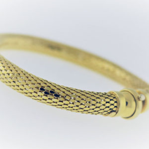 14K Yellow Gold, 21.G Bracelet