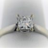 .74 Carat Weight, 18K, White Gold, 4.2G Ladies Engagement Ring