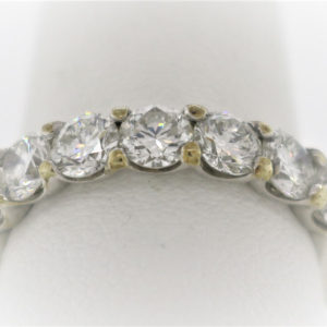 Lady's 3.8G Gold-Diamond Anniversary Ring
