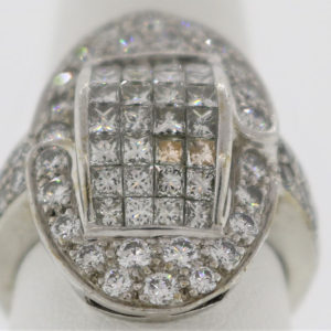 Lady's 10.0G Diamond Fashion Ring