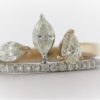 4.2G Wedding Set in 18 Karat Yellow GoldJewelry at Best Collateral