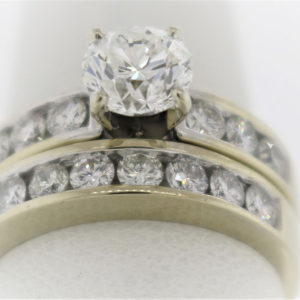 6.3G Wedding Set in White Gold