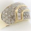 Lady's 6.4G Diamond Fashion Ring in 14K Gold