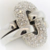 Lady's 10.5G Diamond Fashion Ring in 18K White Gold