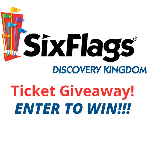 You chance to win 1 free ticket to six flags discovery kingdom