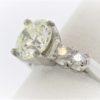 2.34CTR Engagement Ring set in Platinum