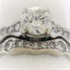 .82CTR Diamond Wedding Set in 18K Gold