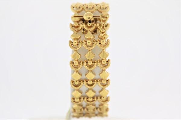 7.5 inch Fashion Bracelet in 18K Yellow Gold