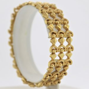 7.5 inch Fashion Bracelet in 18K Yellow Gold