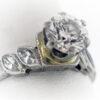1.10CTR Ladies Estate Collection Platinum Ring
