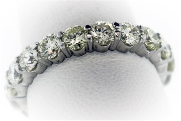 6.1G Ladies Estate Collection Platinum Ring