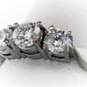 1.73CTR Ladies Estate Collection Platinum Ring