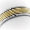 9.5G Estate Collection Platinum & 18K Gold Ring