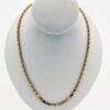 24 Inch Large Baht Chain in 24K Yellow Gold