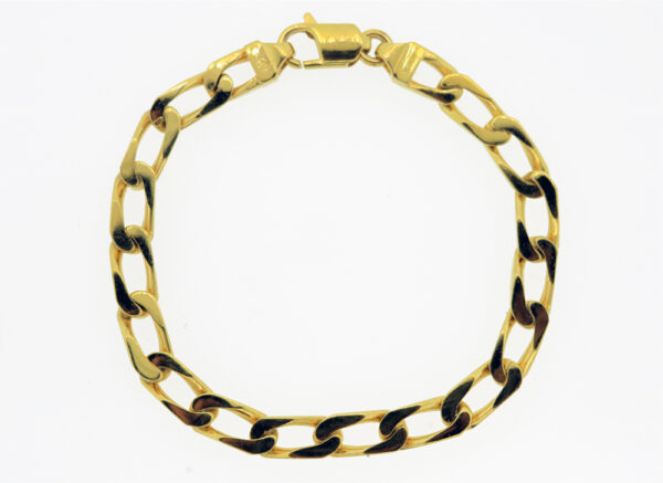 Link Bracelet in 18K Yellow Gold