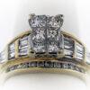 8.7G Ladies Fashion Ring in 14K Yellow Gold