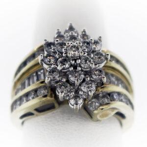 7.5G Ladies Ring in 10K Yellow Gold