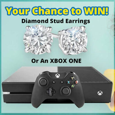 Diamond Stud Earrings and an XBOX One