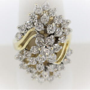 11.3G Ladies Classic Ring in 14K Gold