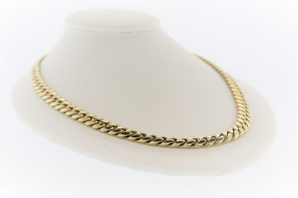 20 Inch Curb Chain in 14K Gold