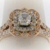 6.0G Ladies Diamond Engagement Ring set in 14K Rose Gold