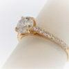 2.2G Ladies Diamond Engagement Ring set in 14K Rose Gold