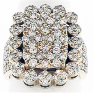 9.1G Ladies Diamond Fashion Ring in 10K Yellow Gold