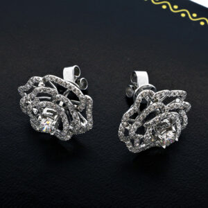 5.8G Diamond Earrings in 18K Yellow Gold