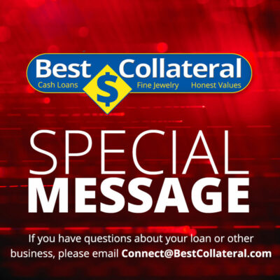 Best Collateral Special Message