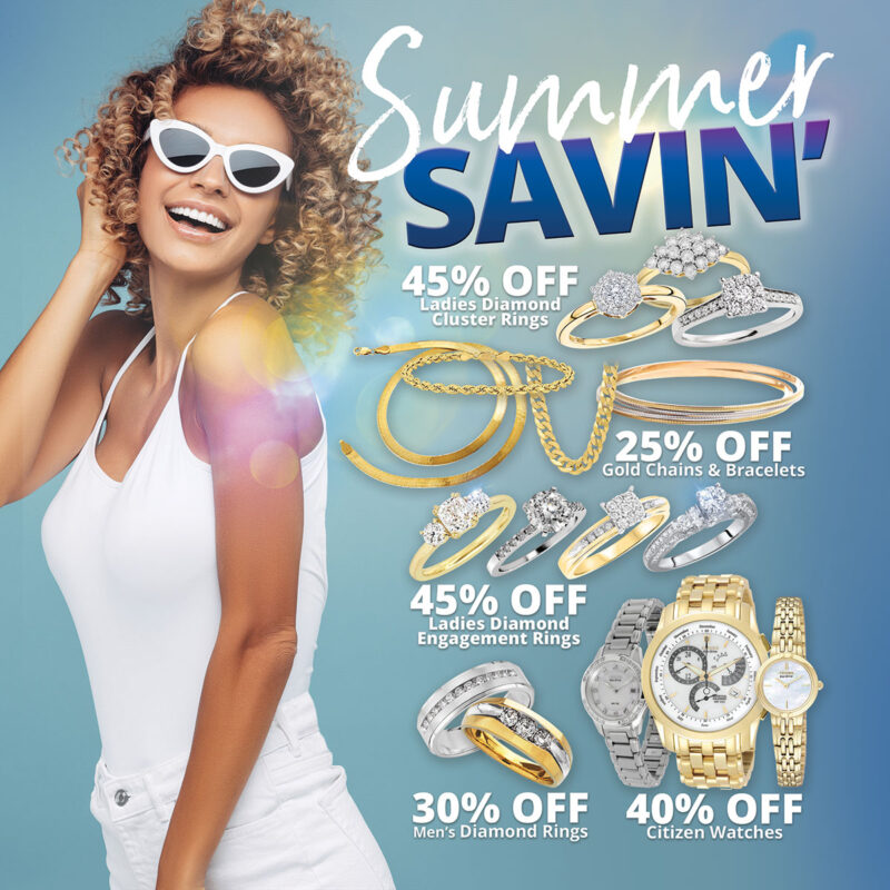 Summer Savin' - August Special Sales at All Best Collateral Locations