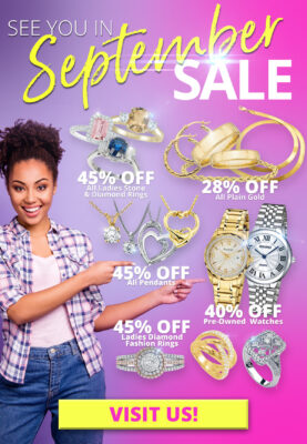 September Sales Promo Flyer