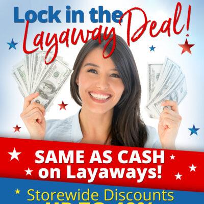 Lock in the Layaway Deal